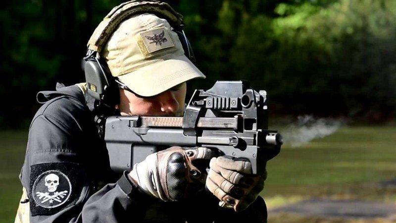 senjata pubg p90