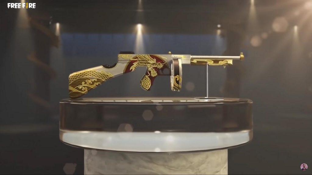 senjata thompson ff