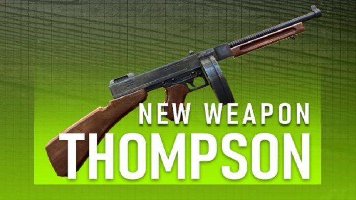 senjata thompson free fire fakta unik, skin, dan cara memainkannya