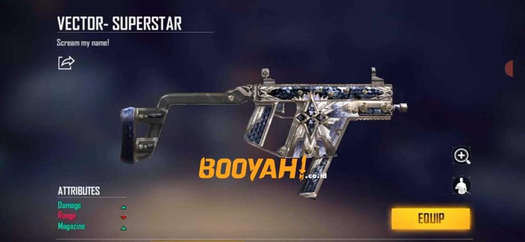 senjata vector di ff