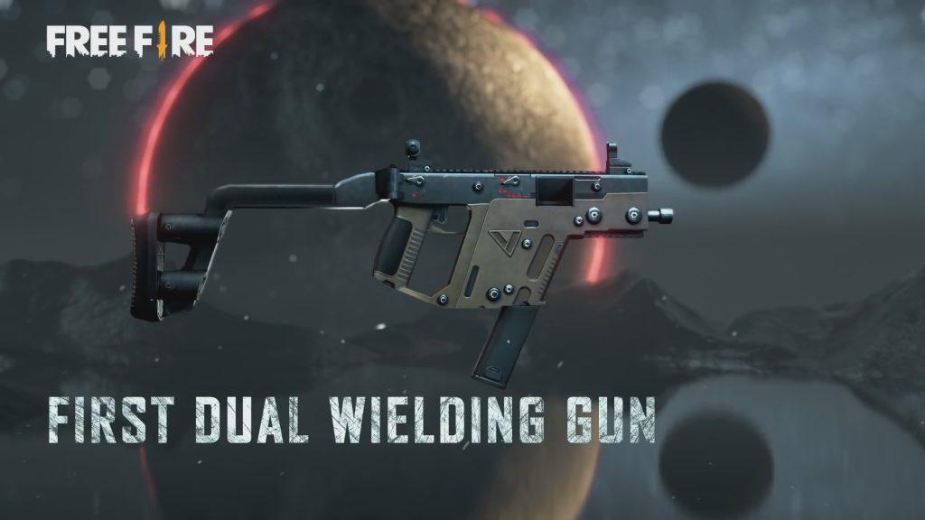 senjata vector free fire