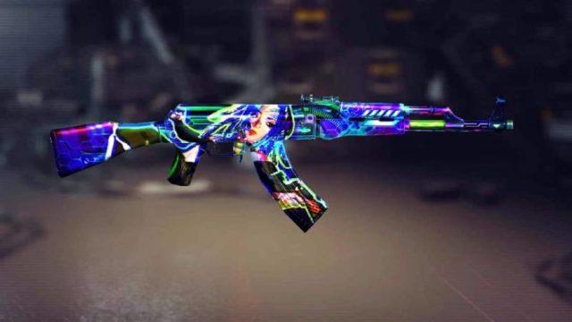 skin AK Free fire