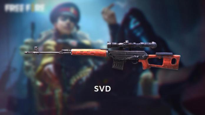 skin svd free fire tersakit dan tips jitu menggunakannya di medan pertempuran
