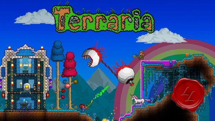 terraria_ game 2d yang terlihat sederhana tetapi penuh tantangan
