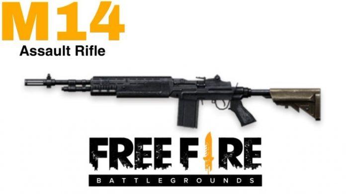 wajib punya, ini detail senjata m14 free fire
