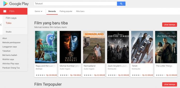 beli film di google play