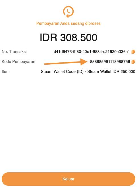 kode pembayaran alfamart