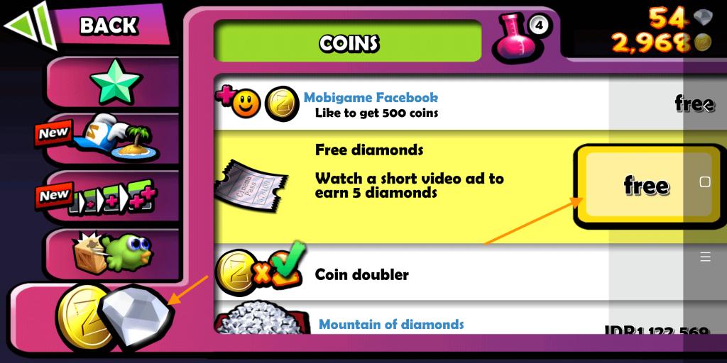 nonton iklan untuk dapat diamond