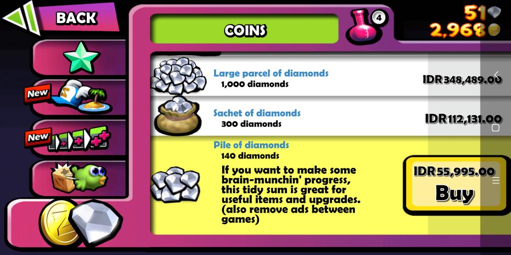 pilih diamond
