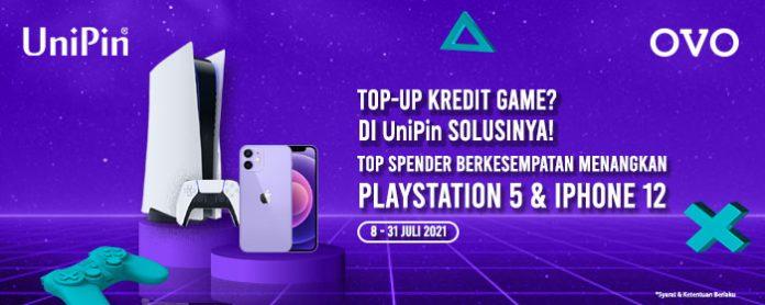 promo top spender UniPin x OVO Juli 2021