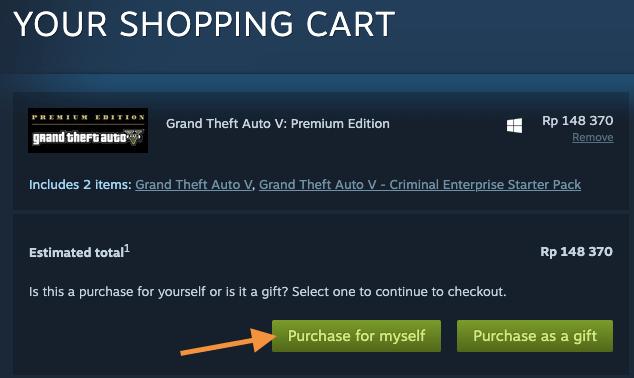 tombol pembelian