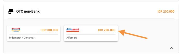 bayar pakai alfamart