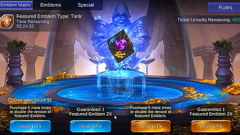 9 Emblem Mobile Legend Terbaik untuk Memenangkan Pertarungan