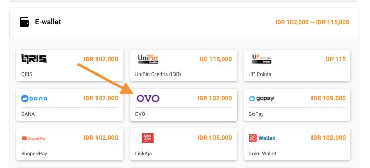 bayar voucher Google Play pakai OVO