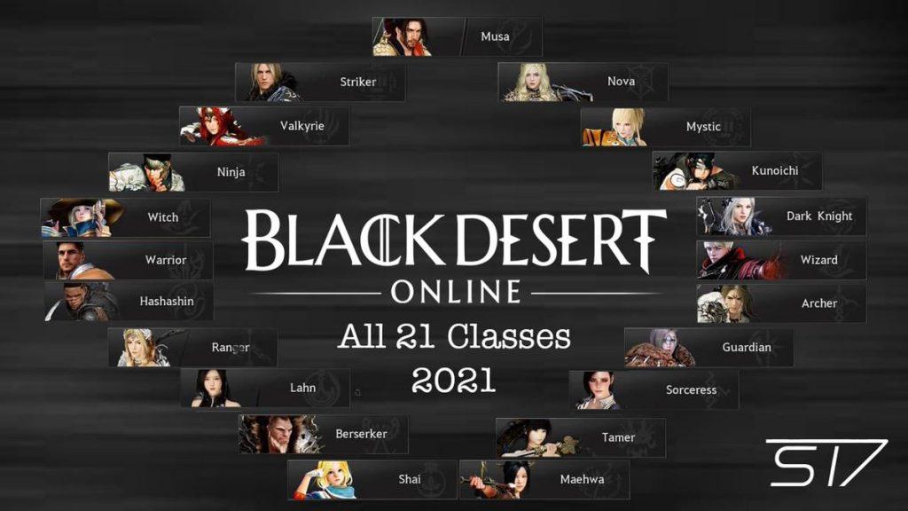 black desert online best class