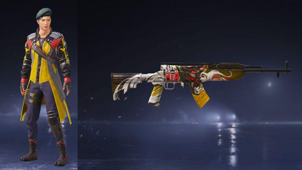 cara beli skin senjata pubg mobile