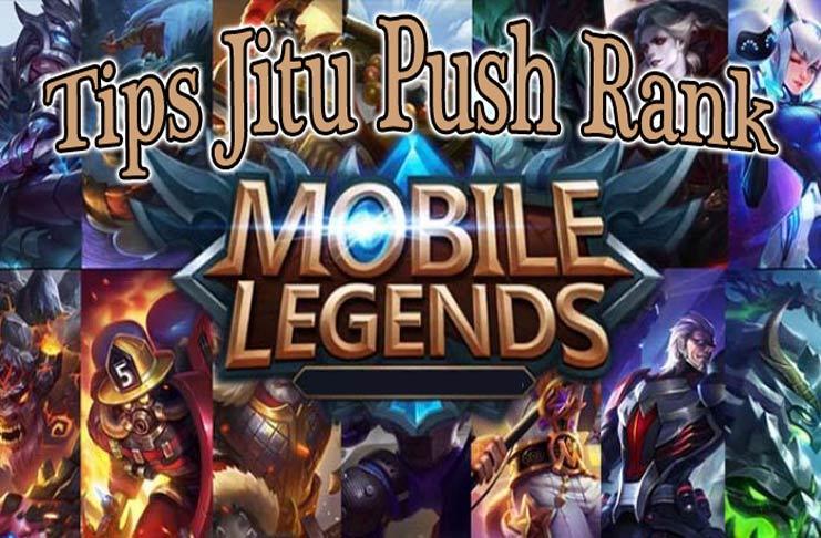 cara push rank mobile legend