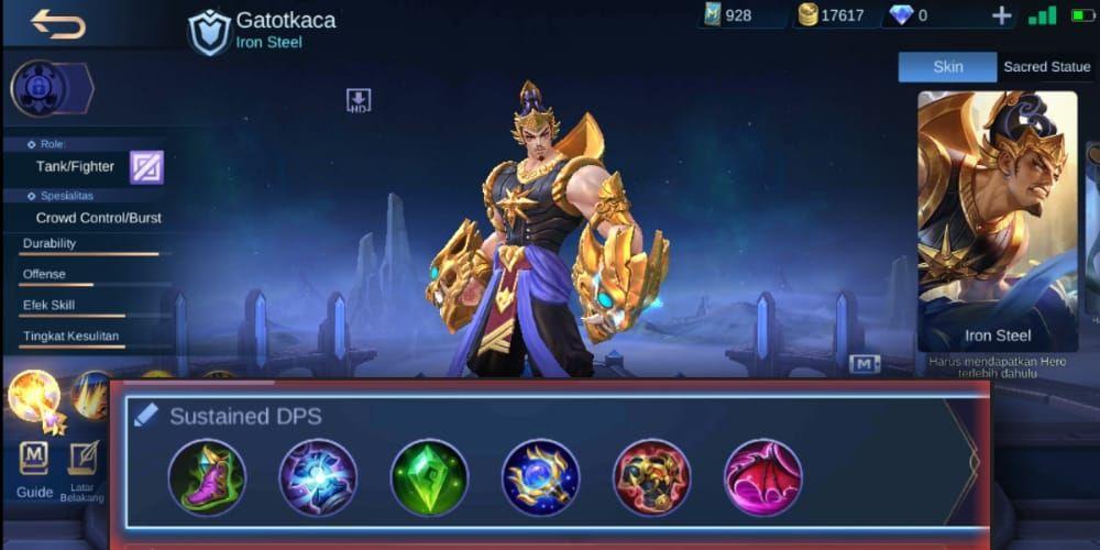 Counter Hero Gatotkaca