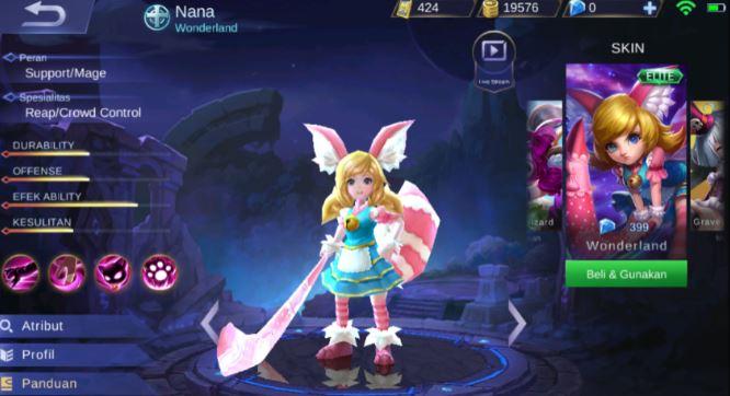 Counter Hero Nana