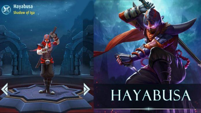 Rekomendasi Build Hayabusa Mobile Legend, Pembunuh Misterius nan Super Kilat!