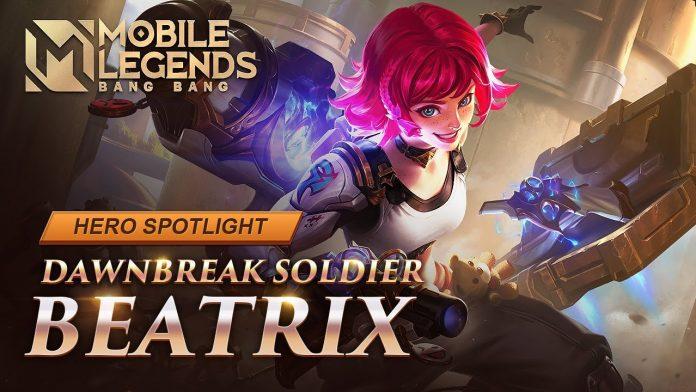 Skill Mumpuni Beatrix, Hero Marksman Baru di Mobile Legend