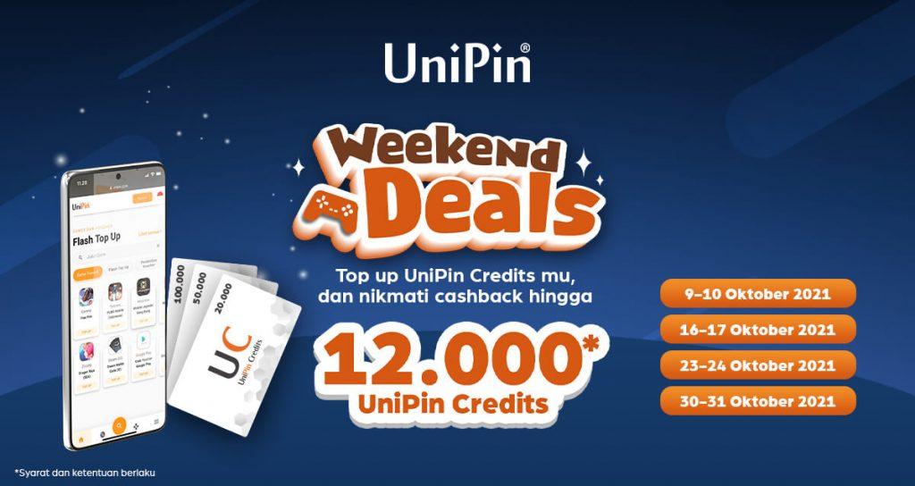 promo weekend deals UniPin