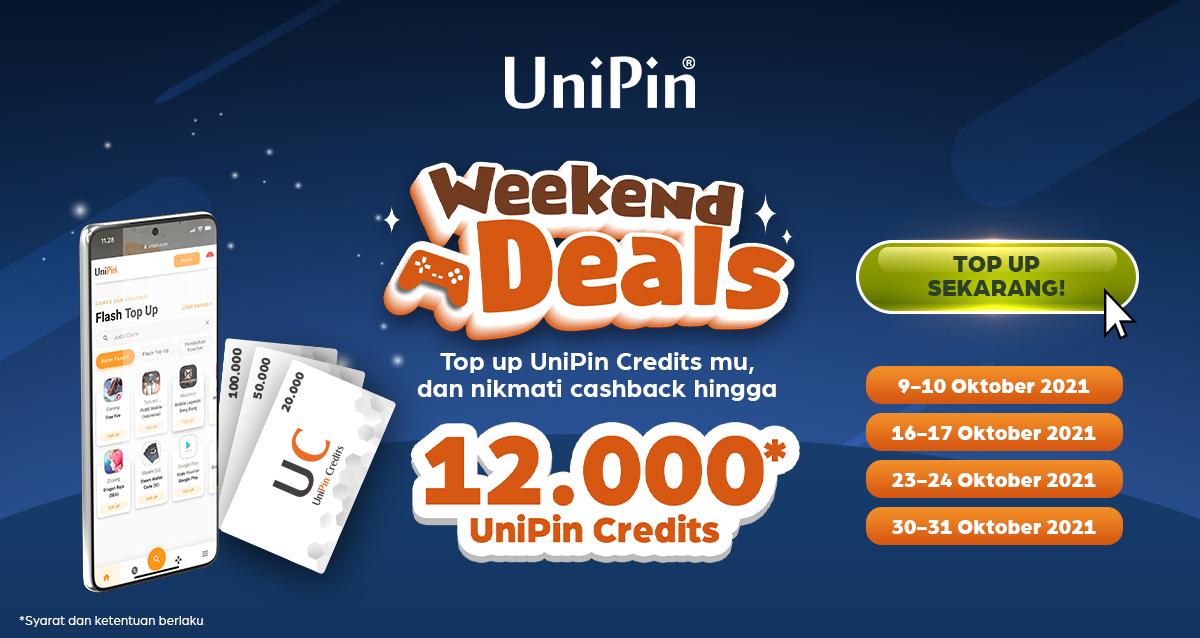 weekend deals banner